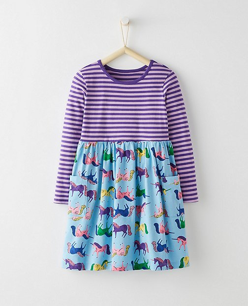 Girls Mixie Playdress by Hanna Andersson