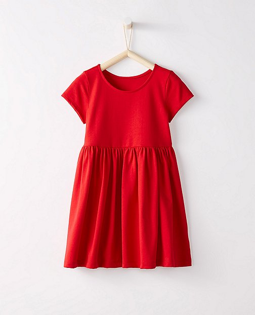 Bright Kids Basics Dress by Hanna Andersson