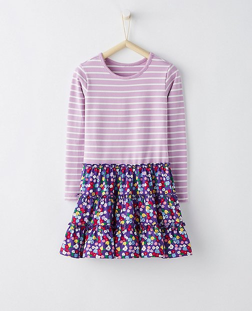 Girls Mix Max Dress by Hanna Andersson