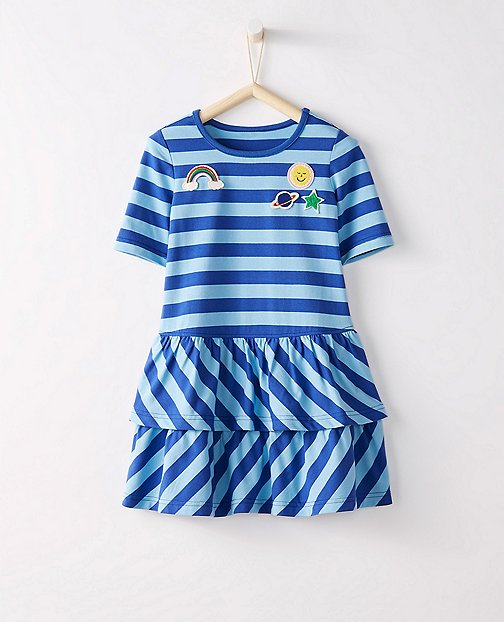 Girls Superpatch Playdress by Hanna Andersson
