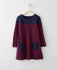 Girls Breton Pocket Dress by Hanna Andersson