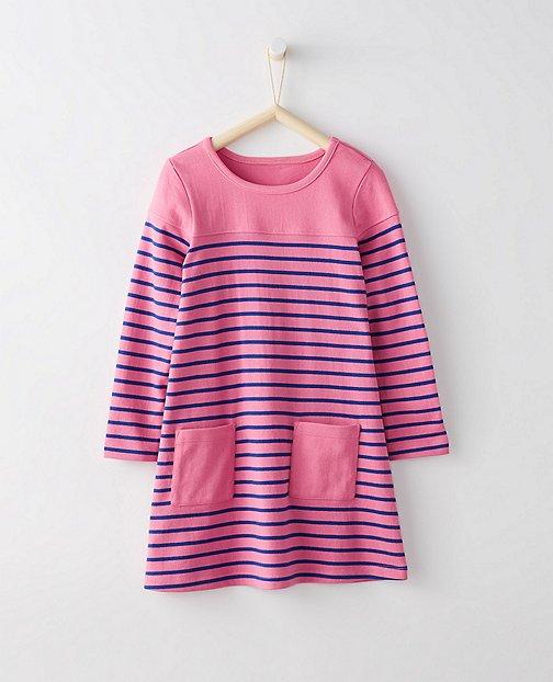 Girls Breton Pocket Dress by Hanna Andersson