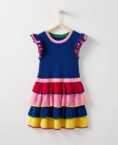 Girls Rainbow Sweater Dress by Hanna Andersson