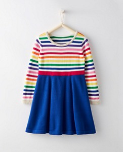 Girls Swingskirt Sweater Dress by Hanna Andersson