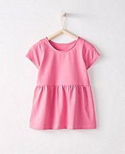 Bright Kids Basics Peplum Top by Hanna Andersson