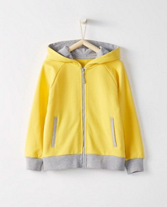 Girls Superstar Hoodie In French Terry by Hanna Andersson