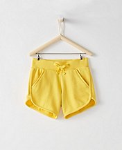 Girls Simple Shorts In French Terry by Hanna Andersson