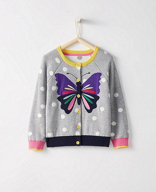 Girls Art Cardigan by Hanna Andersson