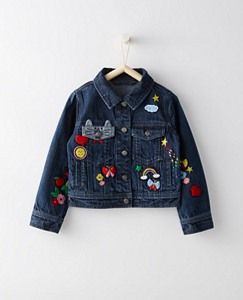 Girls Best Friends Jean Jacket by Hanna Andersson