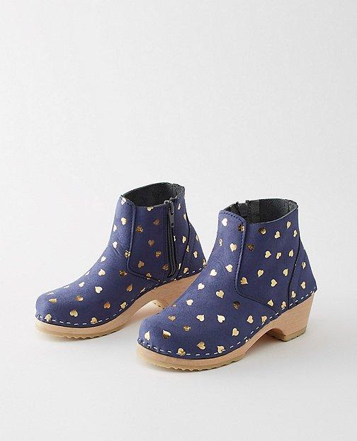 Girls Swedish Boot Clogs By Hanna