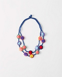 Girls Handcrafted Crochet Necklace by Hanna Andersson