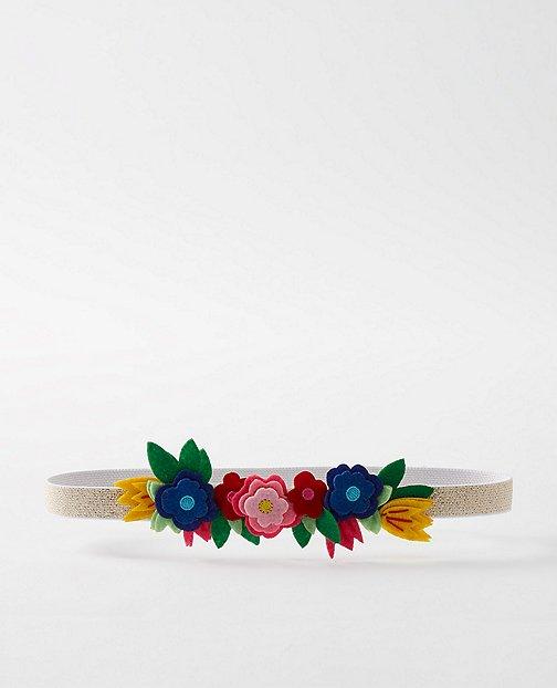 Girls Glitter Star & Felt Flower Headbands by Hanna Andersson