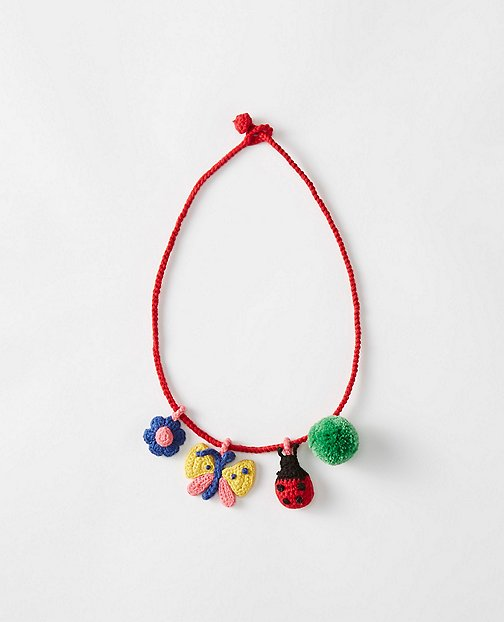 Girls Handcrafted Charm Necklace by Hanna Andersson