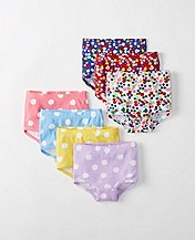 Girls Classic Unders 7 Pack In Organic Cotton by Hanna Andersson