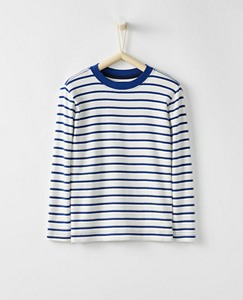 Bright Kids Basics Boxy Tee In Organic Cotton by Hanna Andersson
