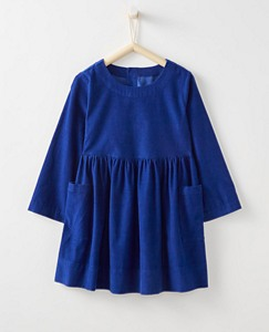 Girls Pincord Pocket Dress by Hanna Andersson