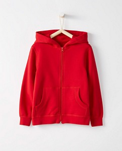 Bright Kids Basics Survivor Hoodie In 100% Cotton by Hanna Andersson