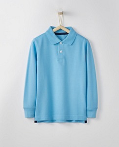 Boys Polo Shirt In Organic Cotton by Hanna Andersson