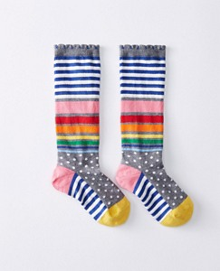 Kids Pitter Pattern Knee Socks by Hanna Andersson
