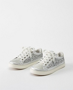 Girls Else Glitter Sneakers By Hanna