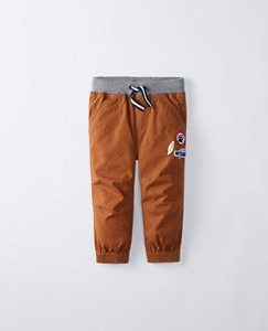 Toddler Comfy Canvas Joggers by Hanna Andersson