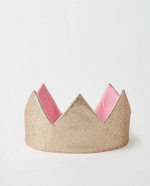 Reversible Glitter Crown by Hanna Andersson