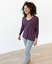 Women Drapey Soft Tee by Hanna Andersson