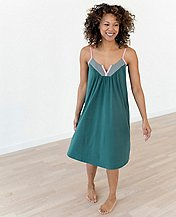 Women Love, Hanna Pima V-Neck Nightgown by Hanna Andersson