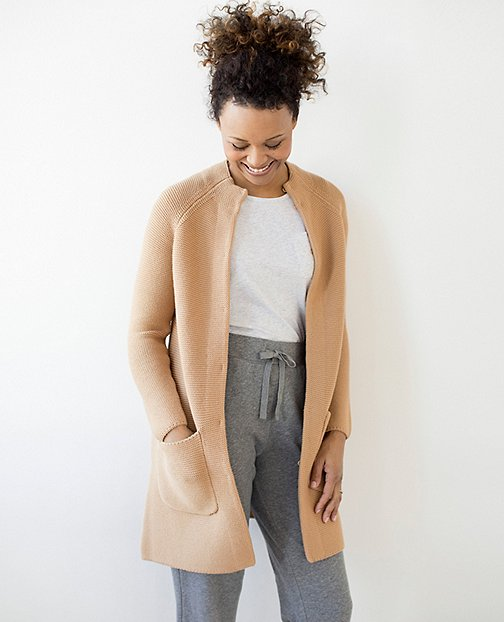 Women Sweater Coat Cardigan by Hanna Andersson