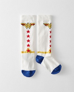 Justice League WONDER WOMAN™ Girls Knee Socks by Hanna Andersson