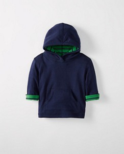 Toddler Reversible Hoodie Pulllover by Hanna Andersson