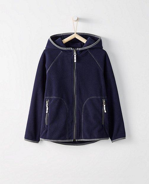Kids Heavyweight Fleece Jacket by Hanna Andersson