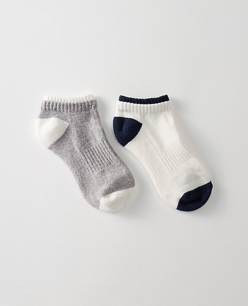 Kids Sporty Shorty Socks 2 Pack by Hanna Andersson