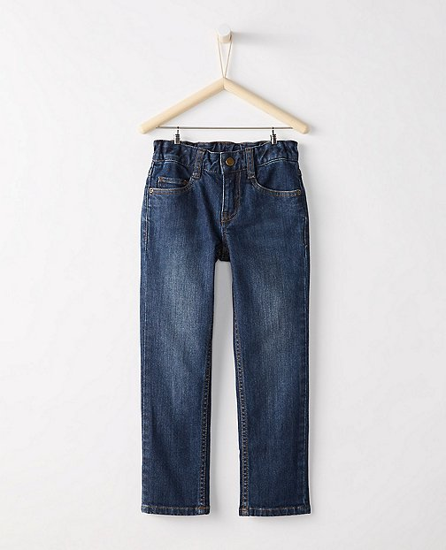 Boys Five Pocket Slim Jeans by Hanna Andersson