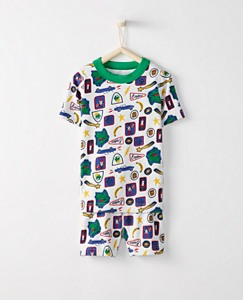 Kids Short John Pajamas In Organic Cotton by Hanna Andersson