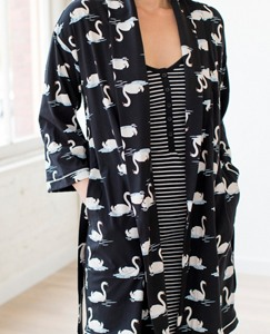Women Love, Hanna Pima Cotton Robe by Hanna Andersson