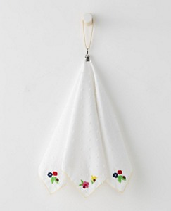Girls Embroidered Swiss Dot Bandana by Hanna Andersson