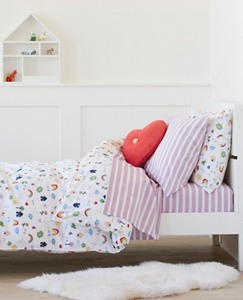 HannaSoft™ Happy House Duvet Cover by Hanna Andersson