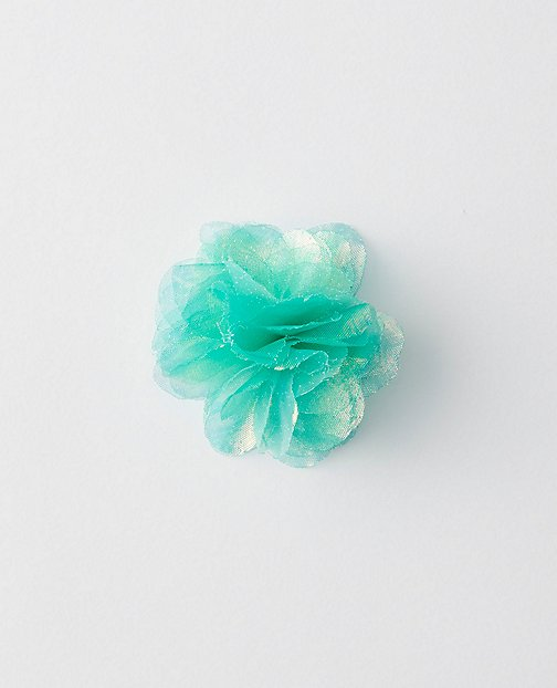 Kids Iridescent Flower Puff Clip by Hanna Andersson