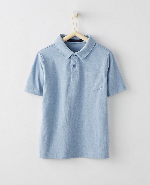 Boys Supersoft Jersey Polo by Hanna Andersson
