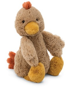 Bashful Rooster By Jellycat
