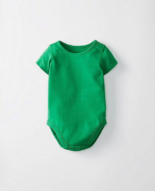 Baby Basics One Piece In Organic Cotton by Hanna Andersson