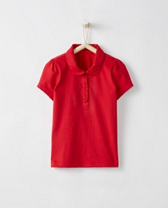Girls Peter Pan Polo In Supersoft Jersey by Hanna Andersson