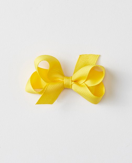 Medium Ribbon Bow Clip by Hanna Andersson