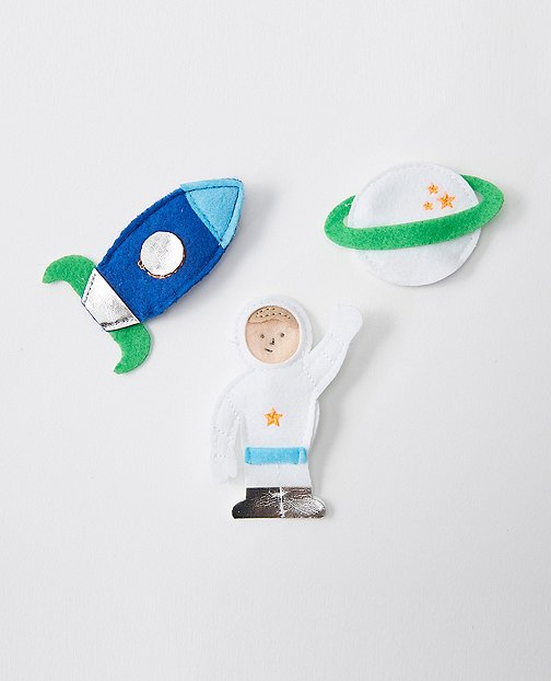 Space Finger Puppets by Hanna Andersson