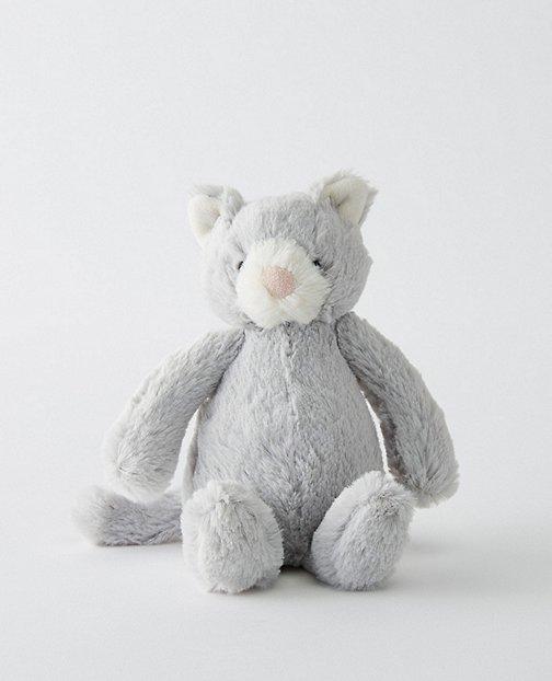 Small Bashful Grey Kitty By Jellycat