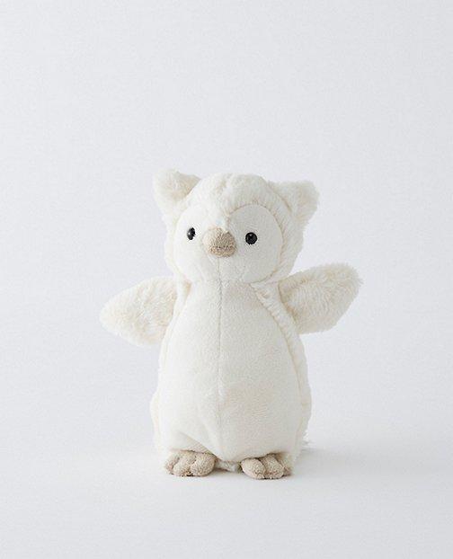 Bashful Snowy Owl By Jellycat