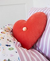 Heart Pillow by Hanna Andersson