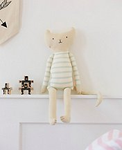 Kitty Cushion Toy by Hanna Andersson