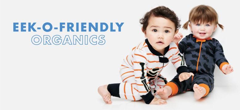 Shop Baby Eek-o-friendly organics Halloween favorites in pure organic cotton
